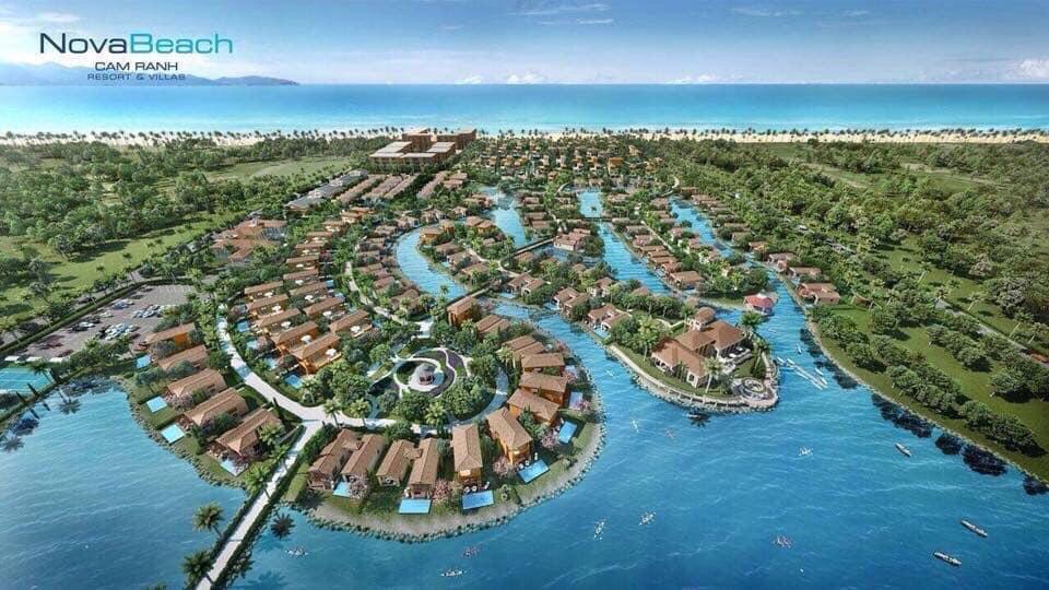 Các dự án nghỉ dưỡng tại khu du lịch sinh thái phức hợp biển Hồ Tràm 1