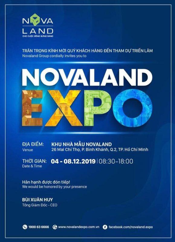 Sự kiện NOVALAND EXPO 2019 - Cơ hội cho nhà đầu tư 1