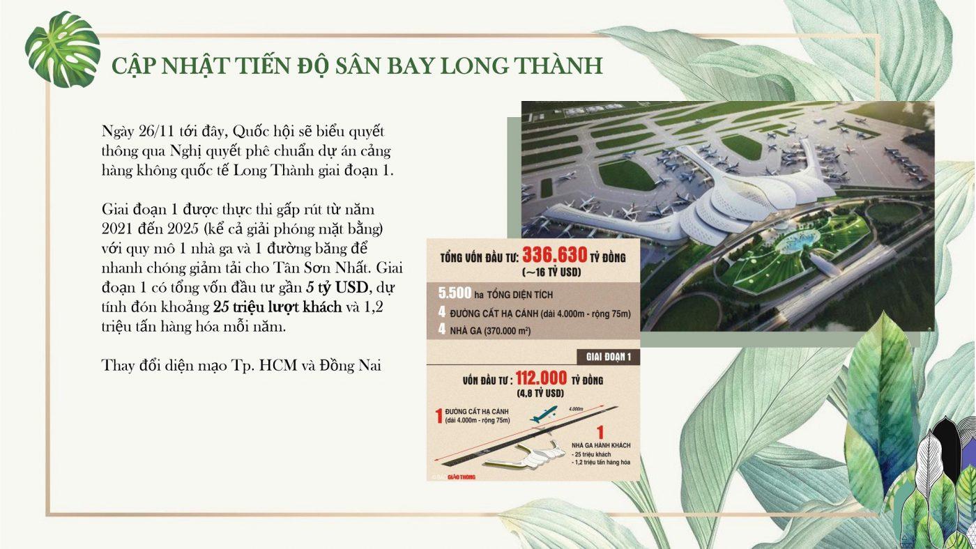 Liền kề sân bay Long Thành