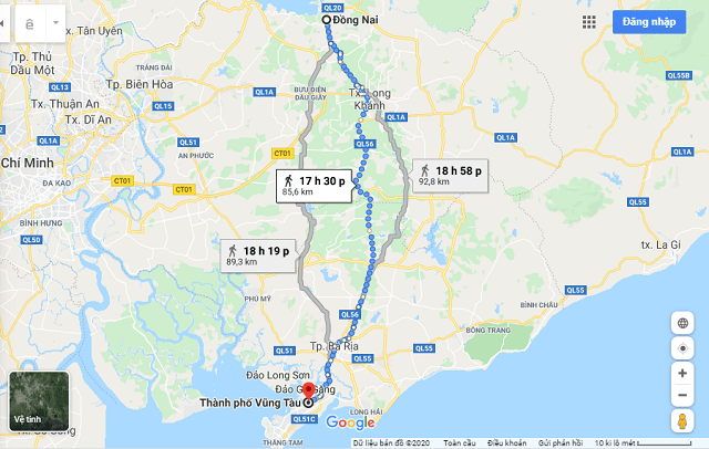 Cac-tuyen-duong-di-chuyen-tu-Dong-Nai-den-TP-Vung-Tau