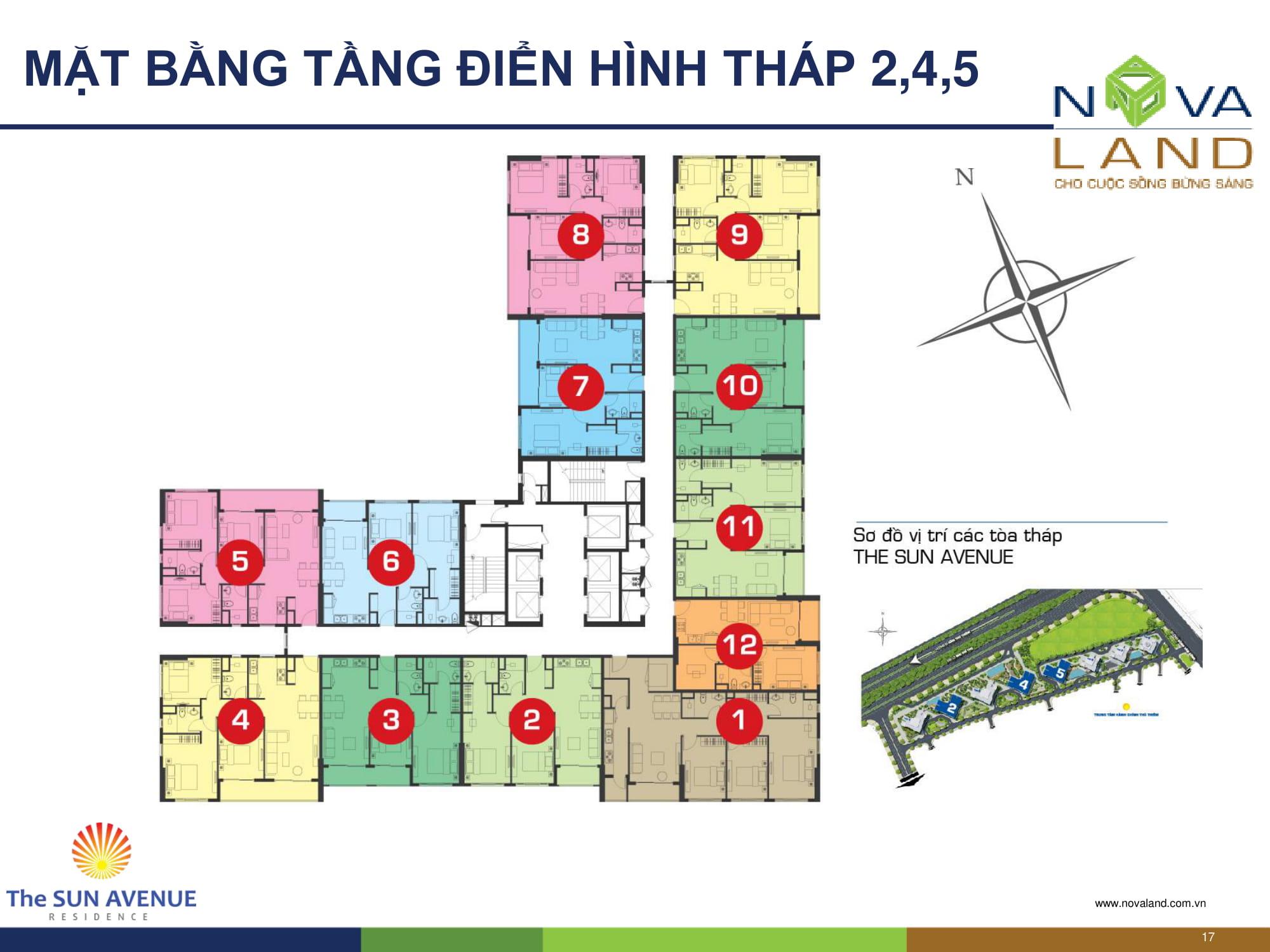 mat-bang-thap-2-4-5-the-sun-avenue